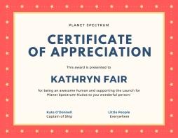 Certificate of appreciation-10