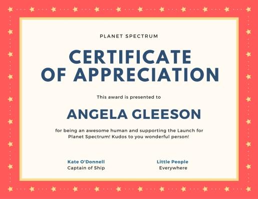 Certificate of appreciation-21