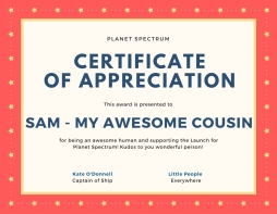Certificate of appreciation-22