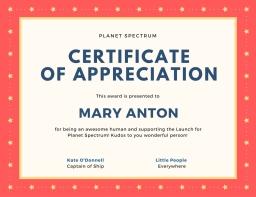Certificate of appreciation-4
